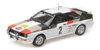 AUDI QUATTRO – AUDI SPORT WINNERS INTERNATIONAL SWEDISH RALLY 1981