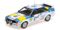 AUDI QUATTRO – AUDI SPORT SWEDEN WINNERS INTERNATIONAL SWEDISH RALLY 1982