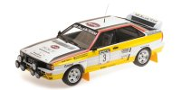 AUDI QUATTRO A2 – AUDI SPORT – BLOMQVIST/CEDERBERG – WINNERS SANYO RALLY OF NEW ZEALAND 1984