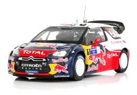 Citroen DS3 WRC n. 1 winner rally du Mexique 2011