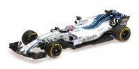 WILLIAMS MARTINI RACING MERCEDES FW40 –  ABU DHABI TESTING NOVEMBER 2017