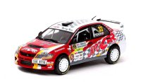 Mitsubishi Lancer Evo IX n. 33 winner Group N rally New Zealand 2