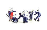 Figurine Set Team Peugeot
