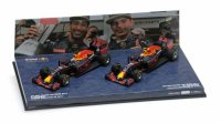 2-CAR SET – RED BULL RACING TAG HEUER RB12  1-2 FINISH MALAYSIAN GP 2016
