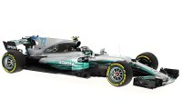 Mercedes AMG W08 EQ Power+ n. 77 F1 2017