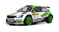 Škoda Fabia R5 n. 2 winner Barum Rally Zlín 2017