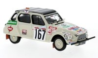 Citroen Dyane n. 167 Rally Paris Dakar 1979