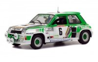 Renault R5 Turbo Groupe B n. 6 Rallye de Loz?re 1985