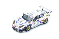 Porsche 996 GT3 RS n. 77 7th Le Mans 2001