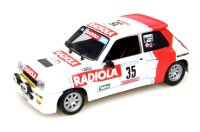Renault 5 Turbo n. 35 Radiola 5th Tour De Corse 1986